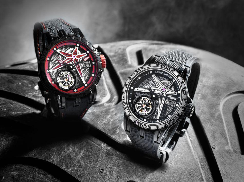 Roger Dubuis Excalibur Spider Pirelli : excès de vitesse en perspective