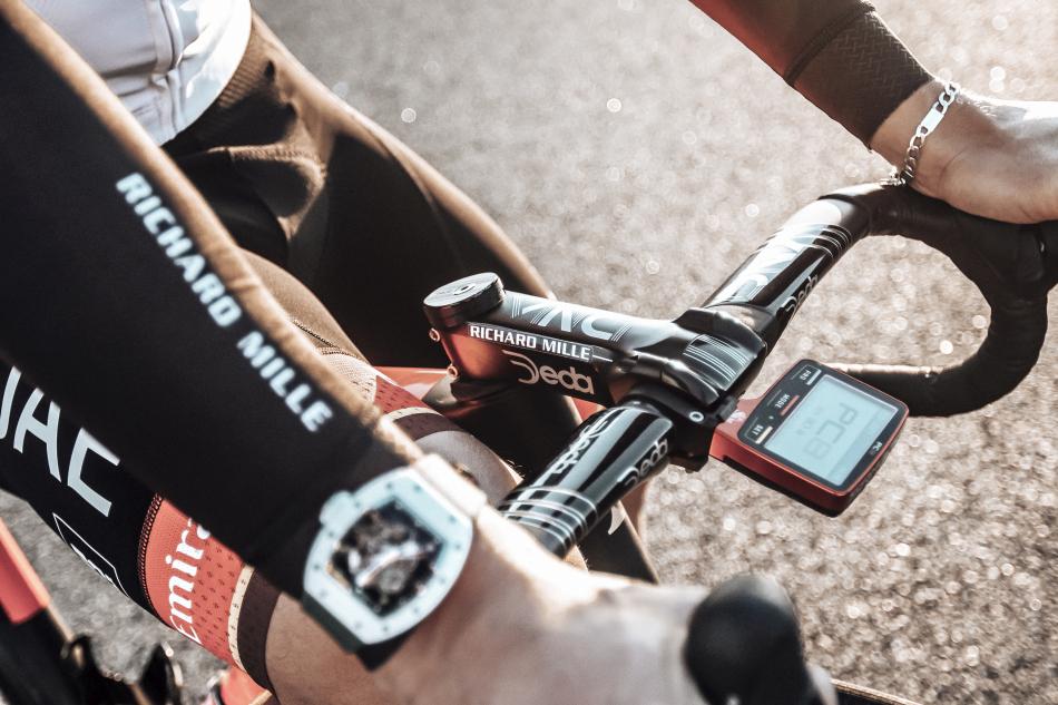 Cyclisme : Richard Mille partenaire de l'UAE Team Emirates