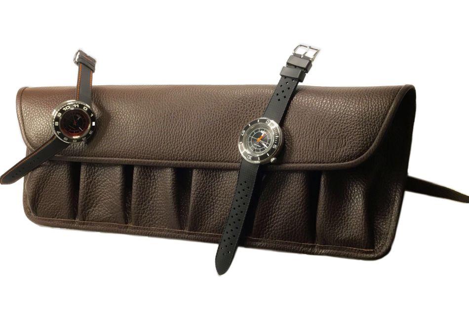 Grandval : la marmotte en cuir pour six montres