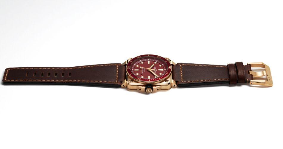 BR 03-92 Diver Red Bronze : pour plongée en mer rouge