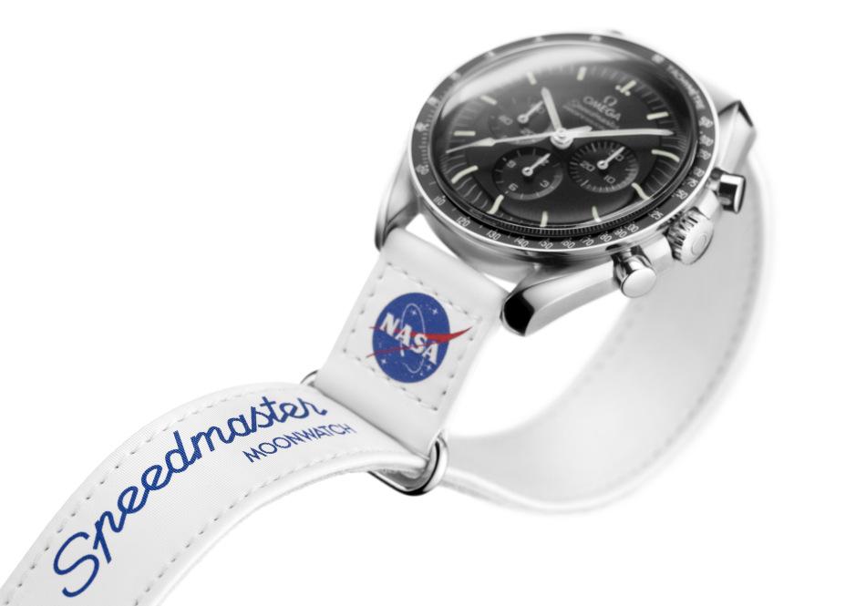 "Omega : des bracelets Nasa ""Velcro"" pour sa fameuse Moonwatch"