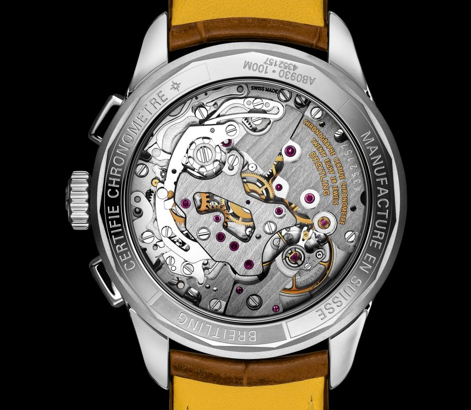 "Breitling Héritage : le chrono ""pistachio"""
