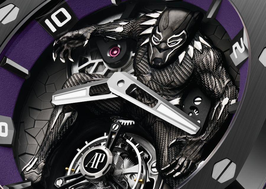 """Audemars Piguet Royal Oak Concept """"Black Panther"""""""