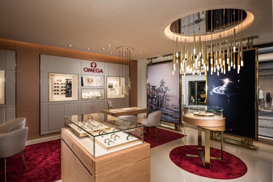 Omega : ouverture d'une boutique franchisée à Luxembourg