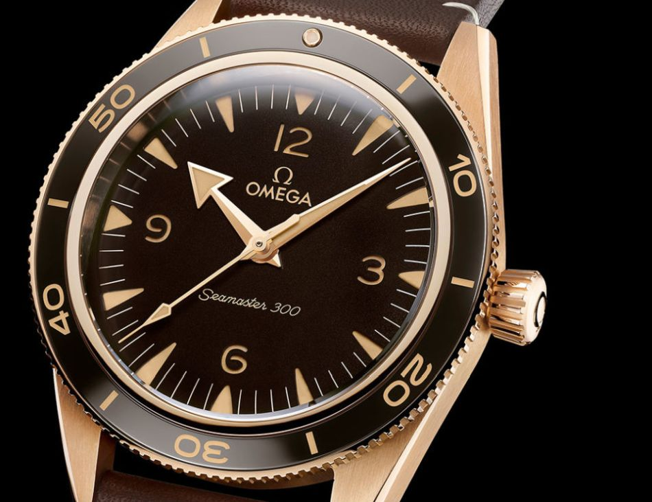 "Omega Seamaster 300 ""Bronze Gold"""