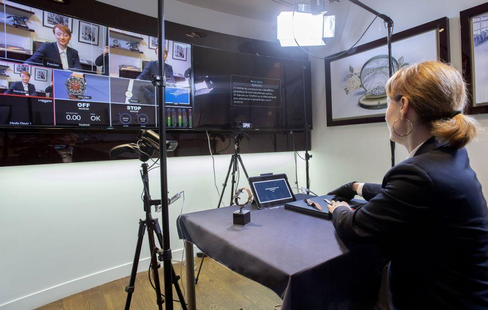 Longines : une nouvelle expérience d'achat à distance grâce à un studio digital de dernière génération