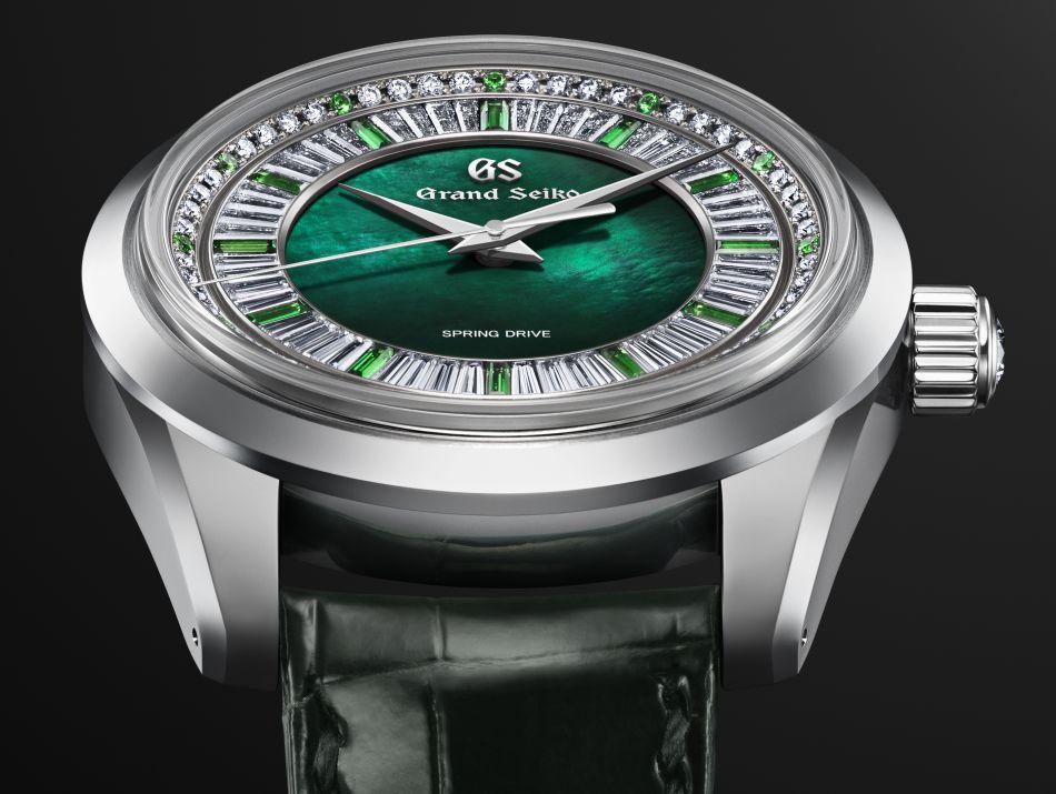 Grand Seiko : montre-bijou en hommage à la région du Shinshu