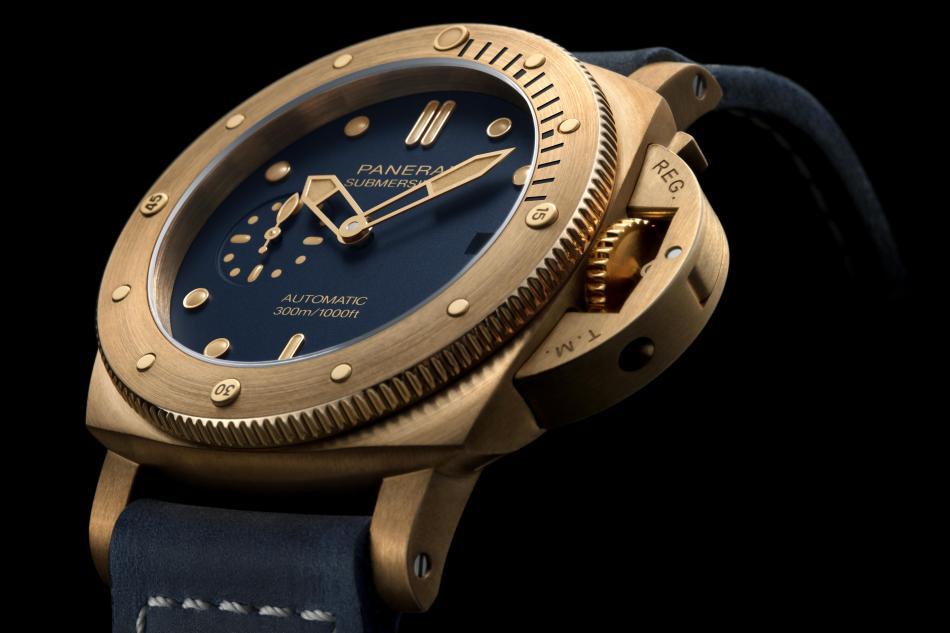 Panerai Submersible Bronzo Blu Abisso : la première en 42