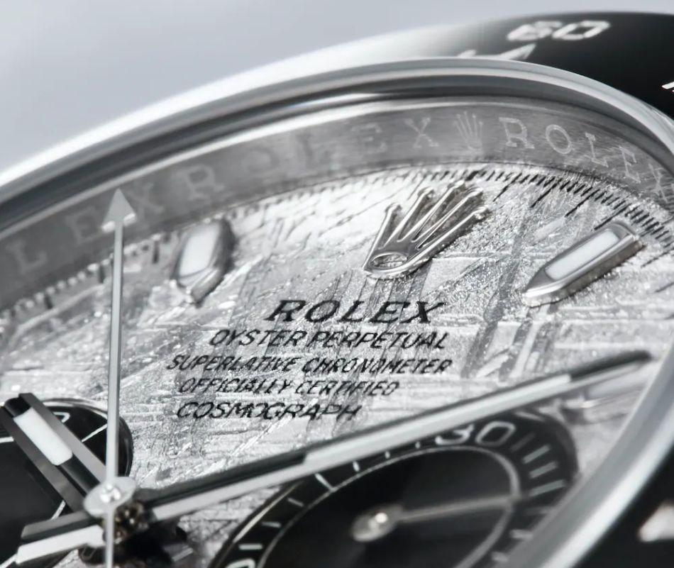 Rolex Cosmograph Daytona cadran météorite