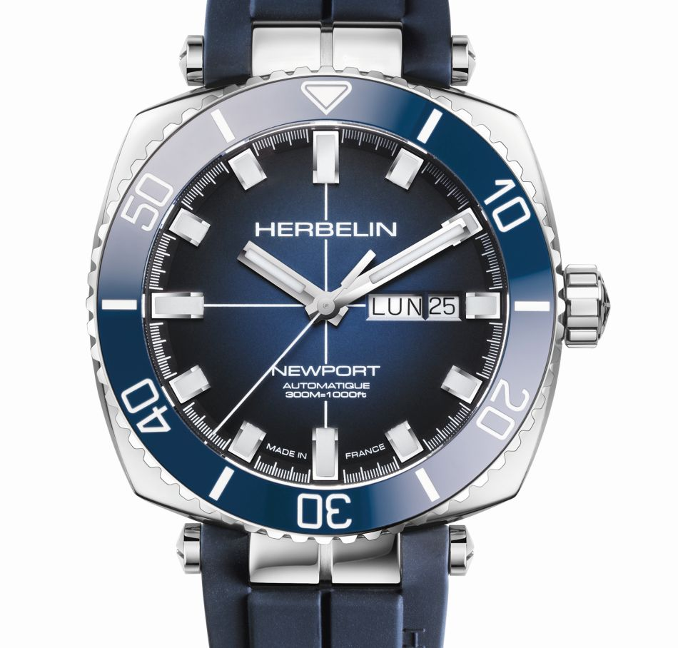 Herbelin Newport Héritage Diver : plongeuse de luxe accessible