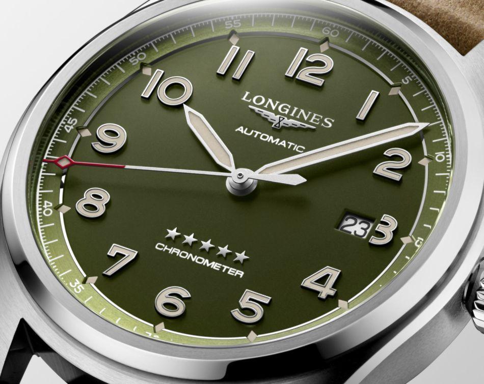 The Longines Spirit : arrivée en cadran vert très tendance