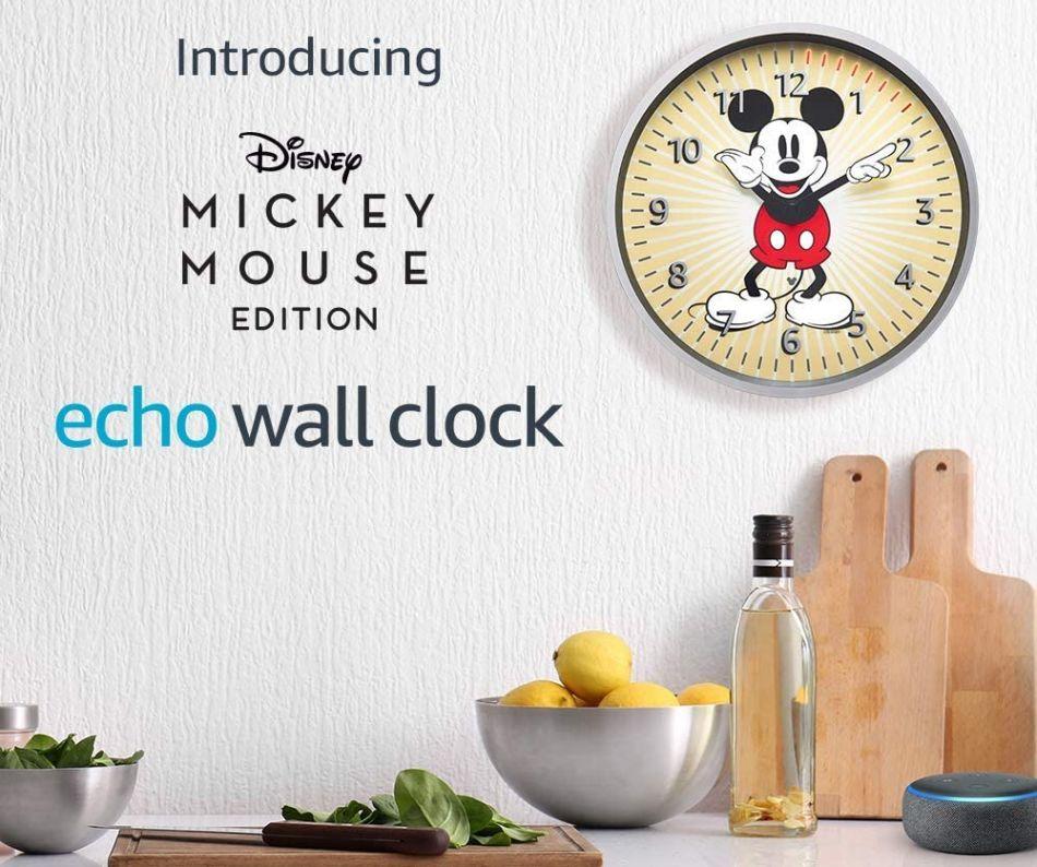 Alexa Gadgets : une horloge murale (intelligente) avec Mickey Mouse