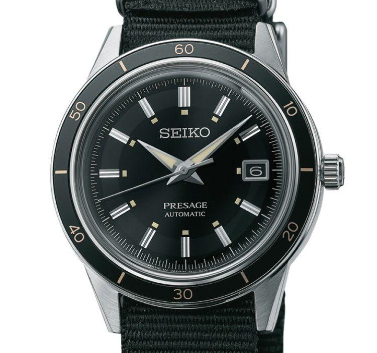 Seiko Presage Style60's : la Crown pour inspiration