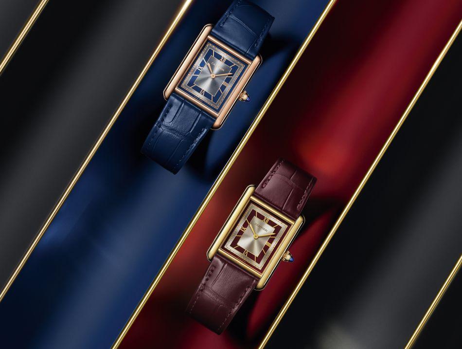 Cartier : la Tank L.C. prend des couleurs