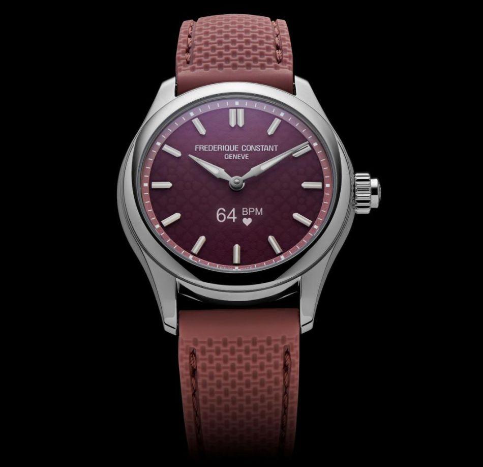 Frédérique Constant Smartwatch Vitality Ladies : la discrète