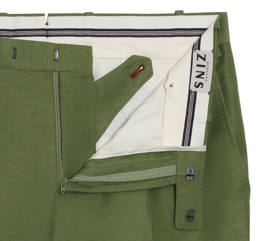 Pantalon Bernard Zins BZV2 EN LIN & SOIE 60490