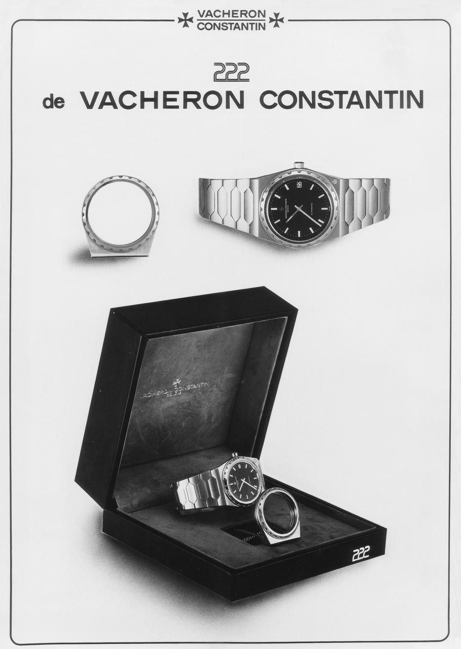 Vacheron Constantin 222 ancienne publicité