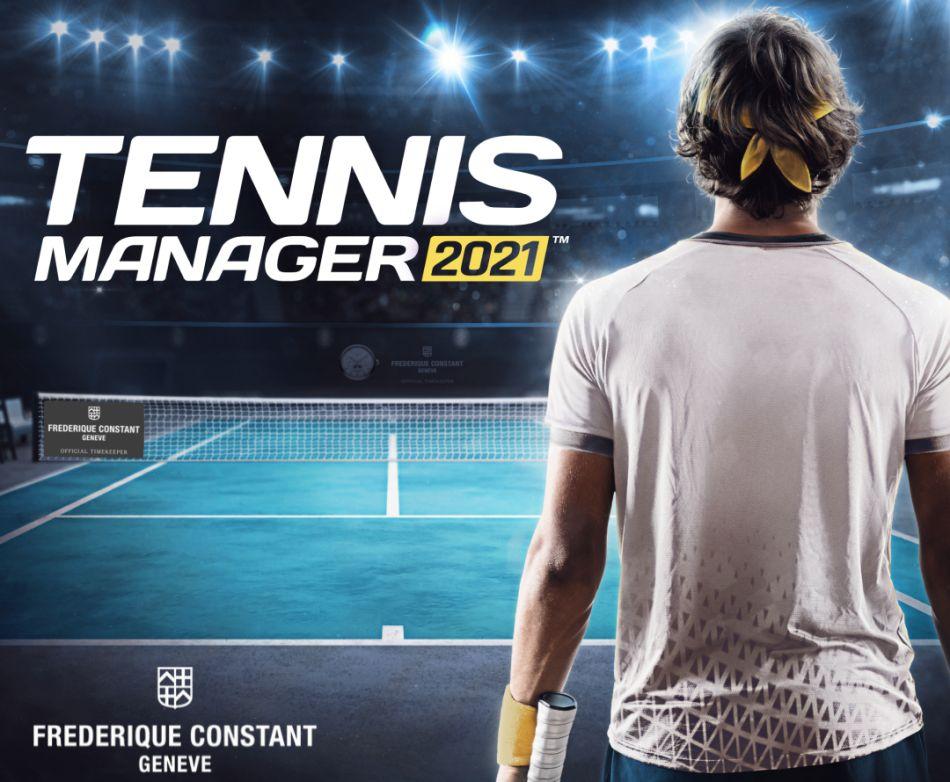 Frédérique Constant : chronométreur officiel du jeu vidéo Tennis Manager