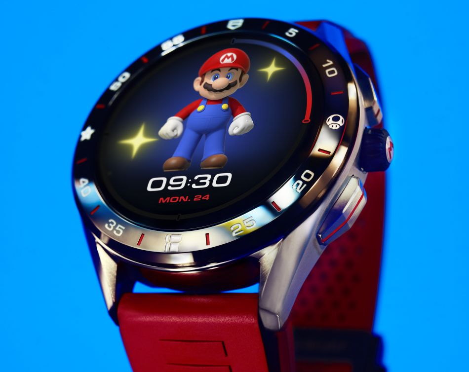 TAG Heuer Connected Nintendo