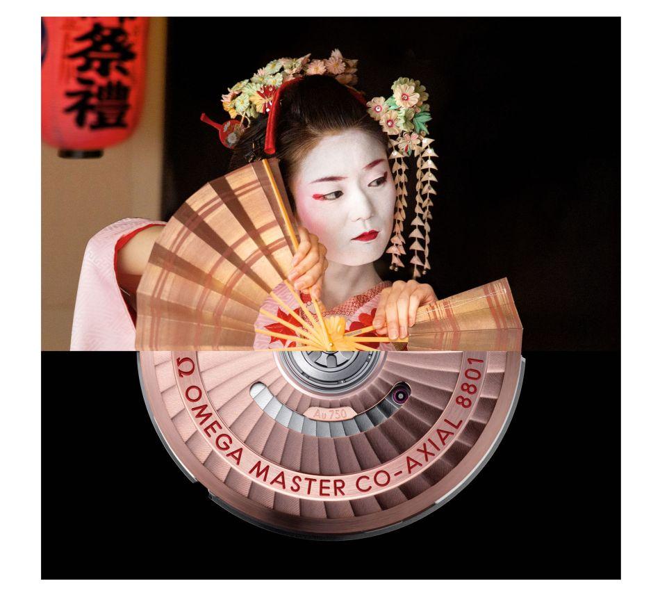 Omega campagne communication JO Tokyo 2020