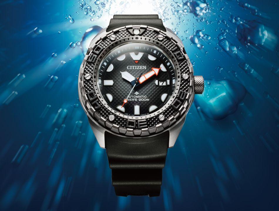 """Citizen Promaster Mechanical Diver 200M : une """"belle bête"""" des profondeurs"""