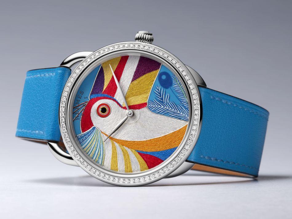 Hermès Arceau Toucan de Paradis
