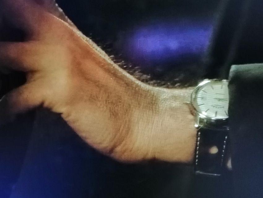 Line of duty : Craig Parkinson porte une montre Rotary