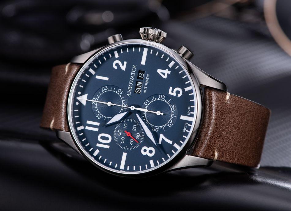 Aérowatch Chronographe Pilote