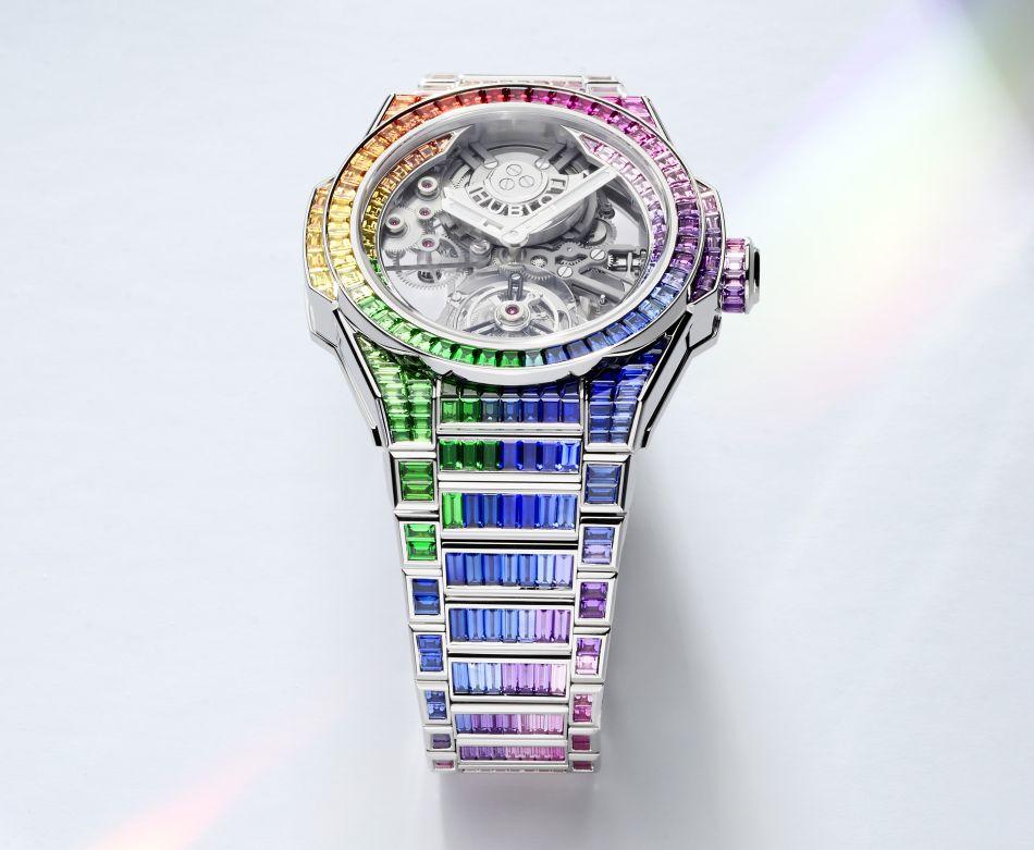 Hublot Big Bang Integral Tourbillon Rainbow