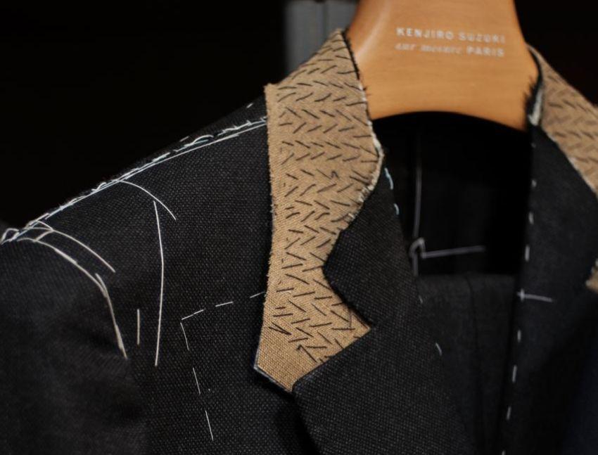 Kenjiro Suzuki : le plus parisien des tailleurs japonais