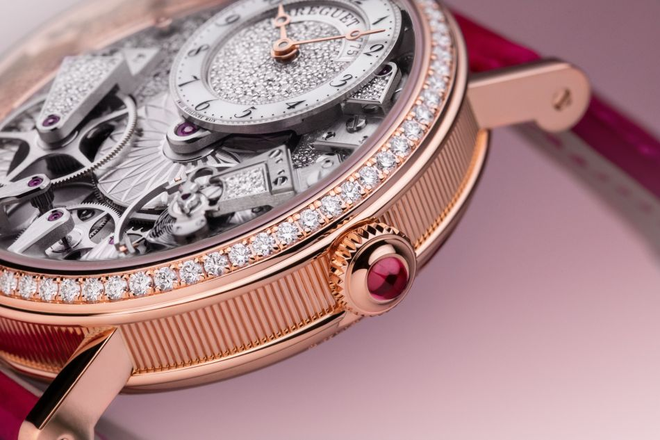 Breguet Tradition 7035 : horlogère et joaillière à la fois
