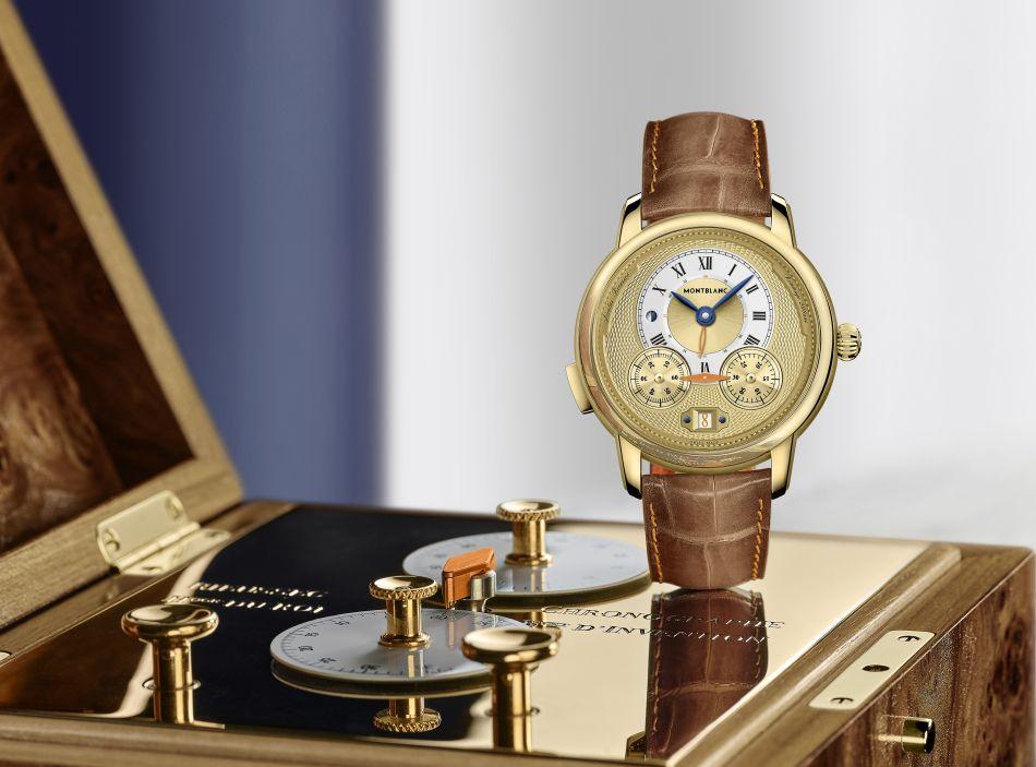 Montblanc Star Legacy Nicolas Rieussec Chronograph Edition limitée