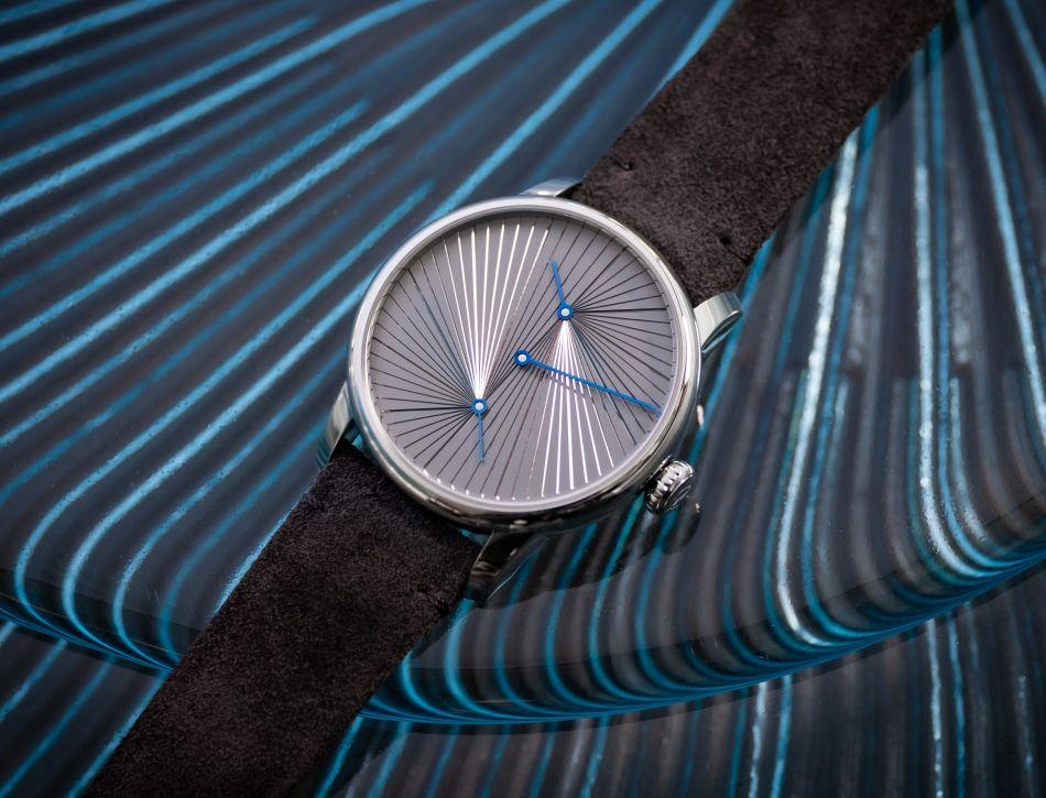Le Régulateur Louis Erard x Atelier oï : heures rayonnantes