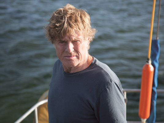 All is lost, Robert Redford, DR