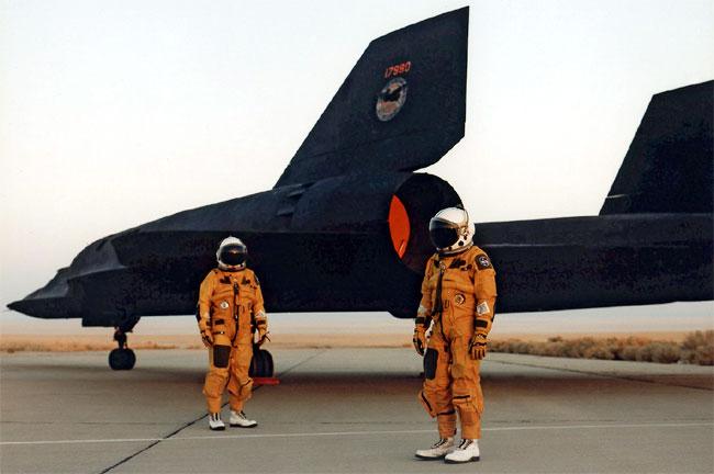 Lockheed SR-71 « Blackbird ».