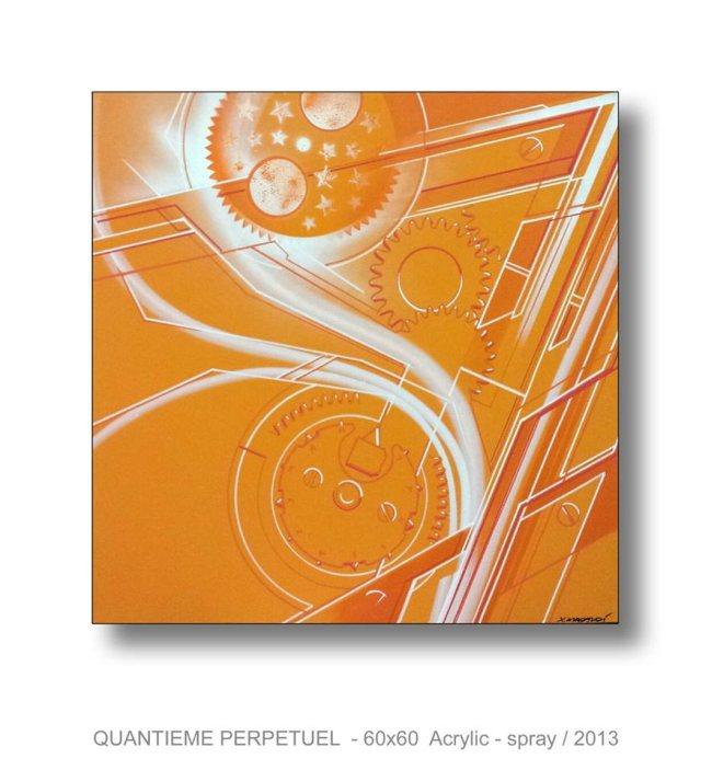 Xavier Magaldi expose chez MisterChrono : à la croisée du design, du dessin technique et de l'art abstrait