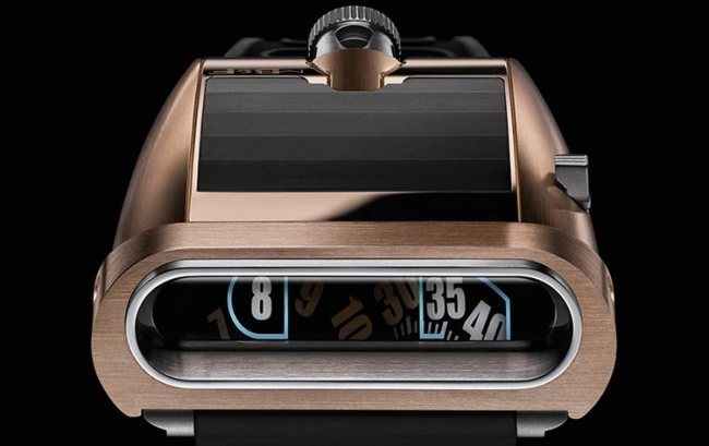 MB&F HM5 RT or rose et titane : 66 exemplaires on the road again…