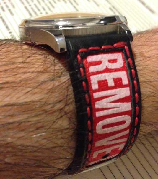 Atelier Thibot : « Remove before flight », le bracelet idéal pour les montres de pilote !