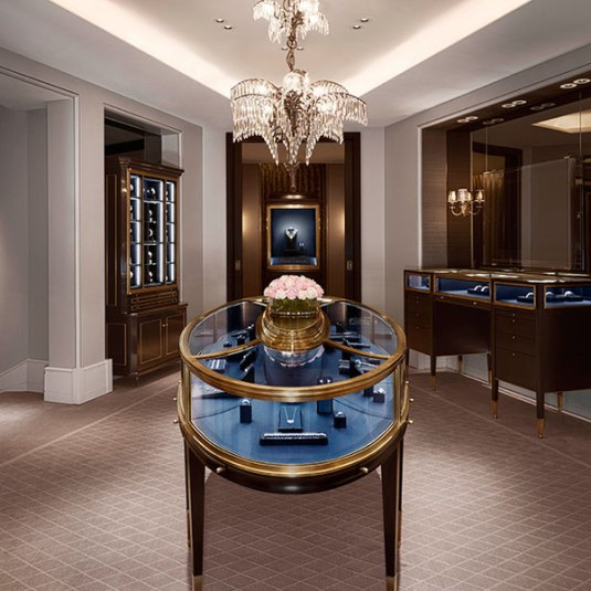 Genève : ouverture d'un salon Harry Winston rue du Rhône