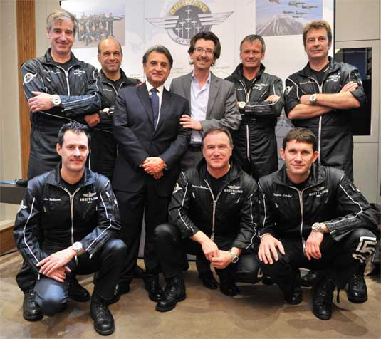 Capet : beau succès pour sa soirée Breitling