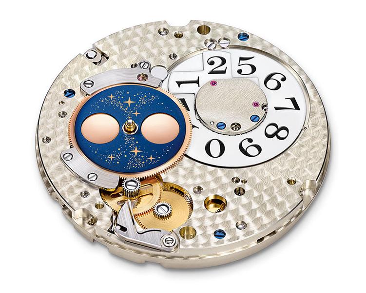 Lange & Söhne : Grande Lange 1 Phases de Lune : le mouvement de la Lune en continu et en plus précis