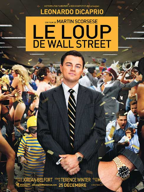 Le Loup de Wall Street, DR