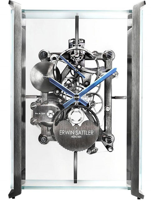 Horloge Erwin Sattler Audi design