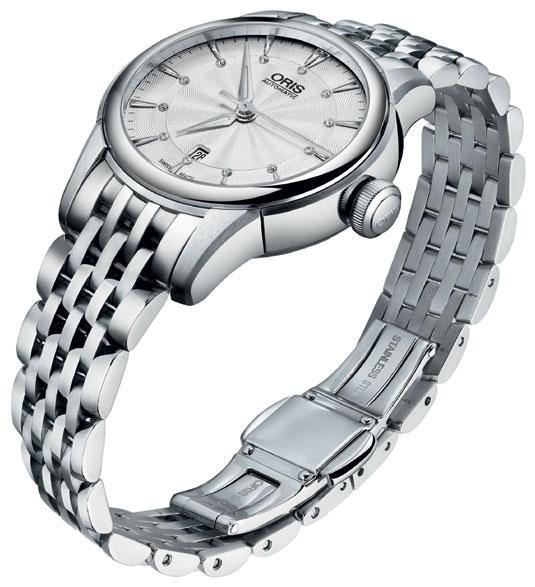Oris Artelier Date Diamonds