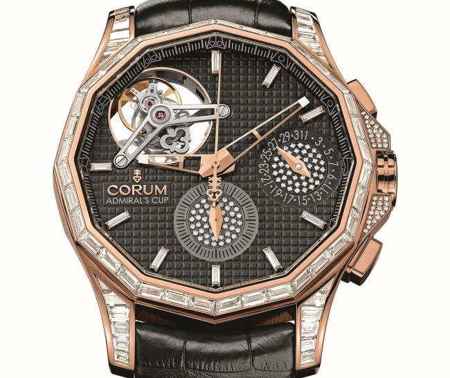 Corum Admiral's Cup Seafender 47 Tourbillon Chronograph : un tourbillon pour tous les jours