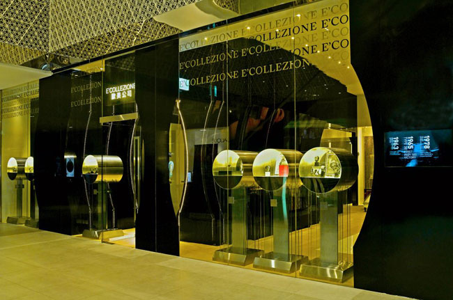Ecollezione : concept-store pour hommes à Singapour
