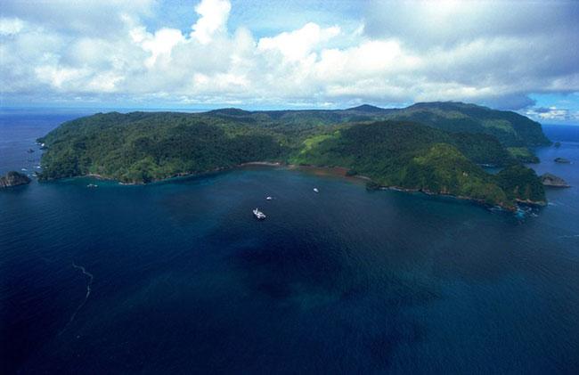 Parc National de l'île Cocos au Costa Rica