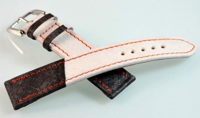 bracelet montre en toile de voile Fabercurtis