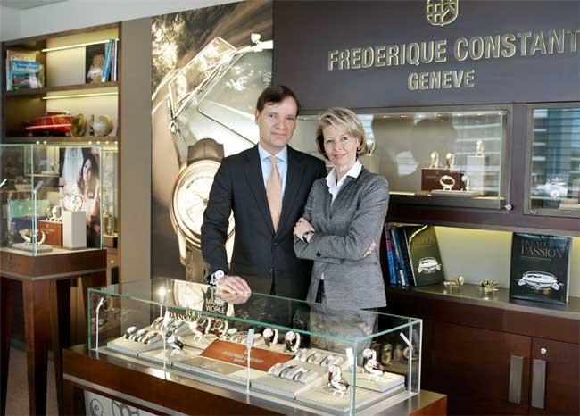 Peter et Aletta Stas de chez Frédérique Constant