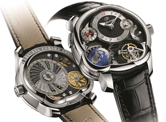 Greubel Forsey GMT platine